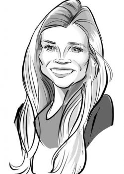 Hollace Caricature2